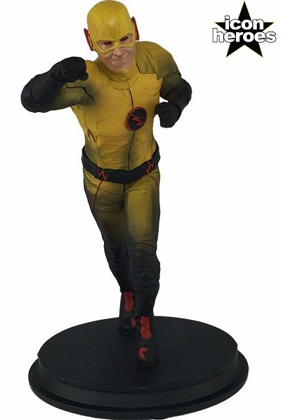 Icon Heroes DC Comics Flash TV Series Reverse Flash Mini Statue