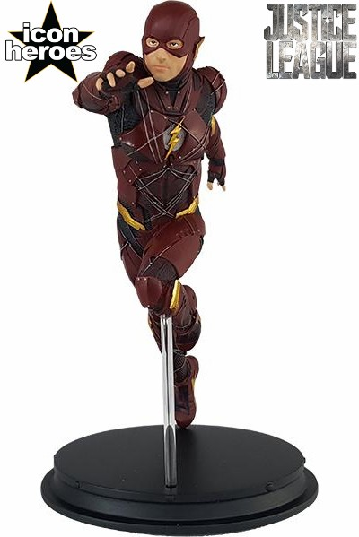 Icon Heroes DC Justice League Movie The Flash Mini Statue