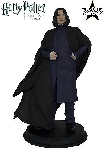 Icon Heroes Harry Potter The Half Blood Prince Severus Snape With Wand Statue Ebay
