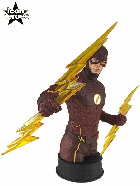 Icon Heroes DC Comics The Flash TV Series The Flash Mini Bust