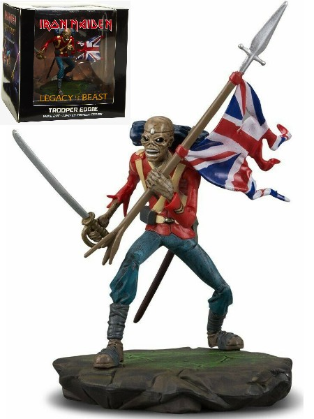 Incendium Iron Maiden Legacy of the Beast Trooper Eddie Figure