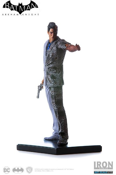Iron Studios DC Batman Arkham Knight Two Face Art Scale Statue