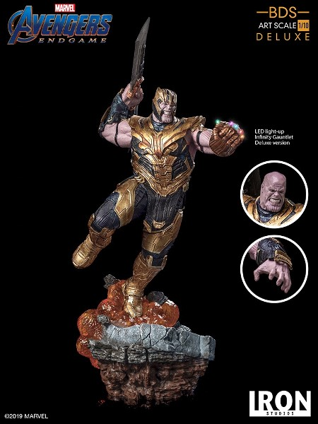 Iron Studios Marvel Avengers Endgame Thanos Art Scale