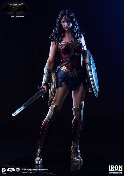 Iron Studios DC BVS Dawn of Justice Wonder Woman Statue