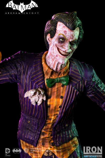 Iron Studios DC Batman Arkham Knight The Joker Art Scale Statue