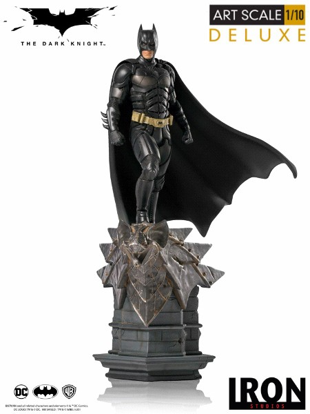 Preorder Iron Studios DC Batman The Dark Knight Deluxe Art Scale