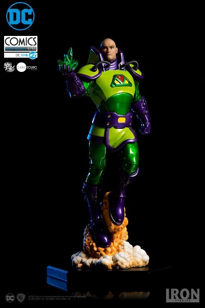Iron Studios DC Comics Lex Luthor Art Scale Statue