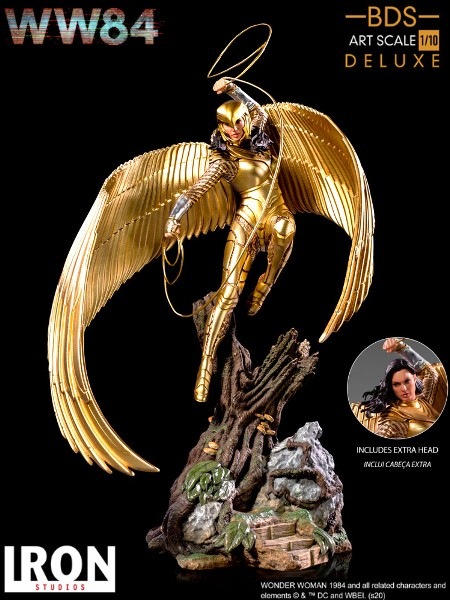 Preorder Iron Studios DC WW84 Wonder Woman Deluxe Art Scale