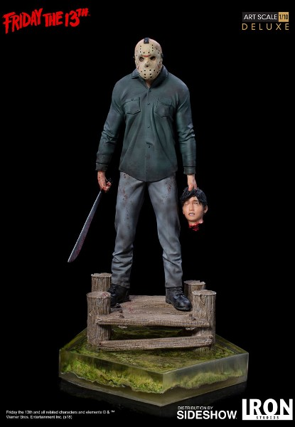 Iron Studios Friday the 13th Jason Deluxe Art Scale Statue