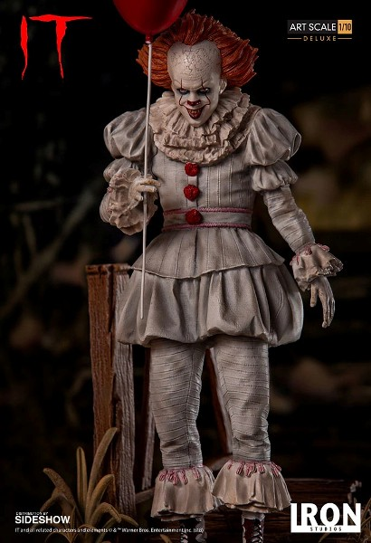 Iron Studios It 2017 Pennywise Deluxe Version Art Scale Statue