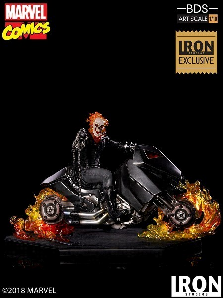 Iron Studios Marvel Ghost Rider Art Scale Exclusive Statue