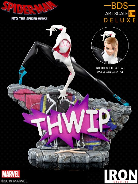 Preorder Iron Studios Marvel Gwen Stacy Art Scale Statue