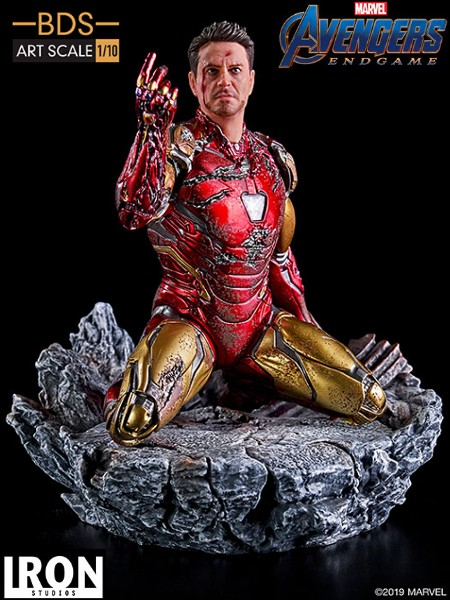 Preorder Iron Studios Marvel I Am Iron Man Art Scale Statue