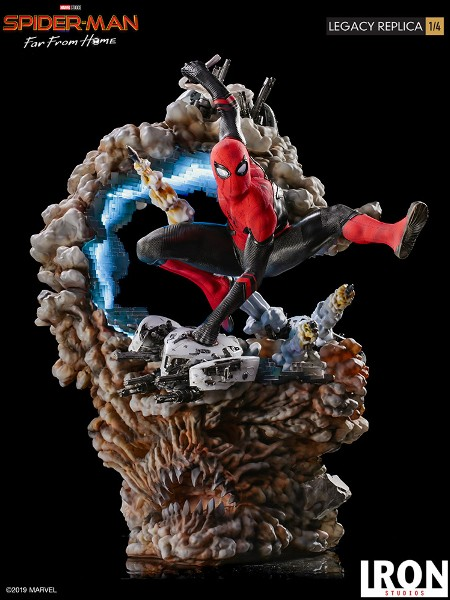 Preorder Iron Studios Marvel Spider-Man Far From Home Statue