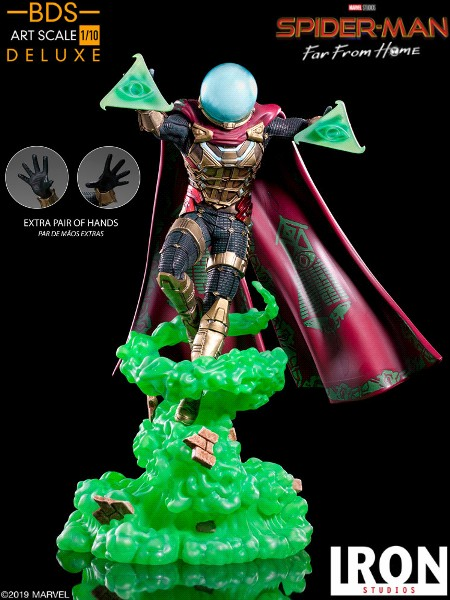Preorder Iron Studios Spider-Man Far From Home Mysterio Statue