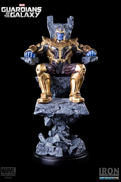 Iron Studios Marvel Guardians of the Galaxy Thanos Statue