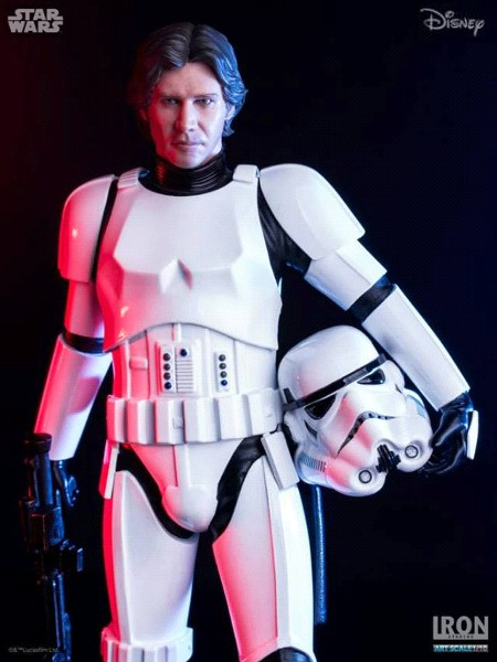 Iron Studios Star Wars Han Solo in Stormtrooper Disguise Statue