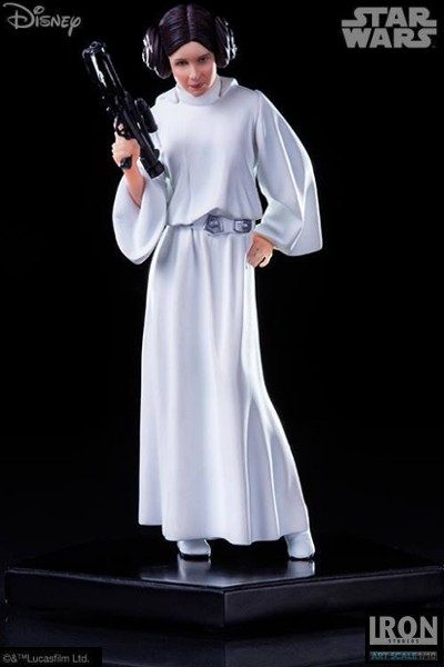 Iron Studios Star Wars Princess Leia Art Scale Statue