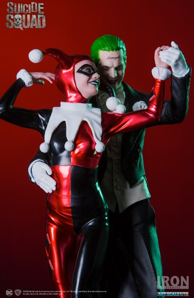 Iron Studios DC Suicide Squad Joker and Harley Quinn Statue