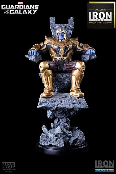 Iron Studios Marvel Guardians Thanos Art Scale Statue Exclusive