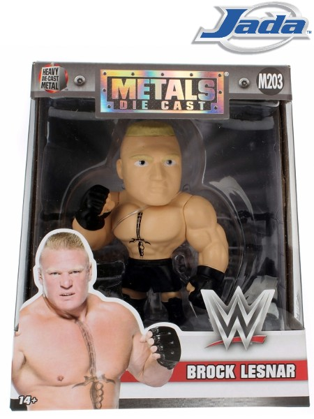 Jada WWE Brock Lesnar Metals Die Cast Figure