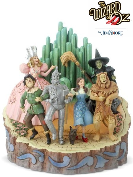 Wizard of Oz by Jim Shore Adventure to the Emerald City Statue