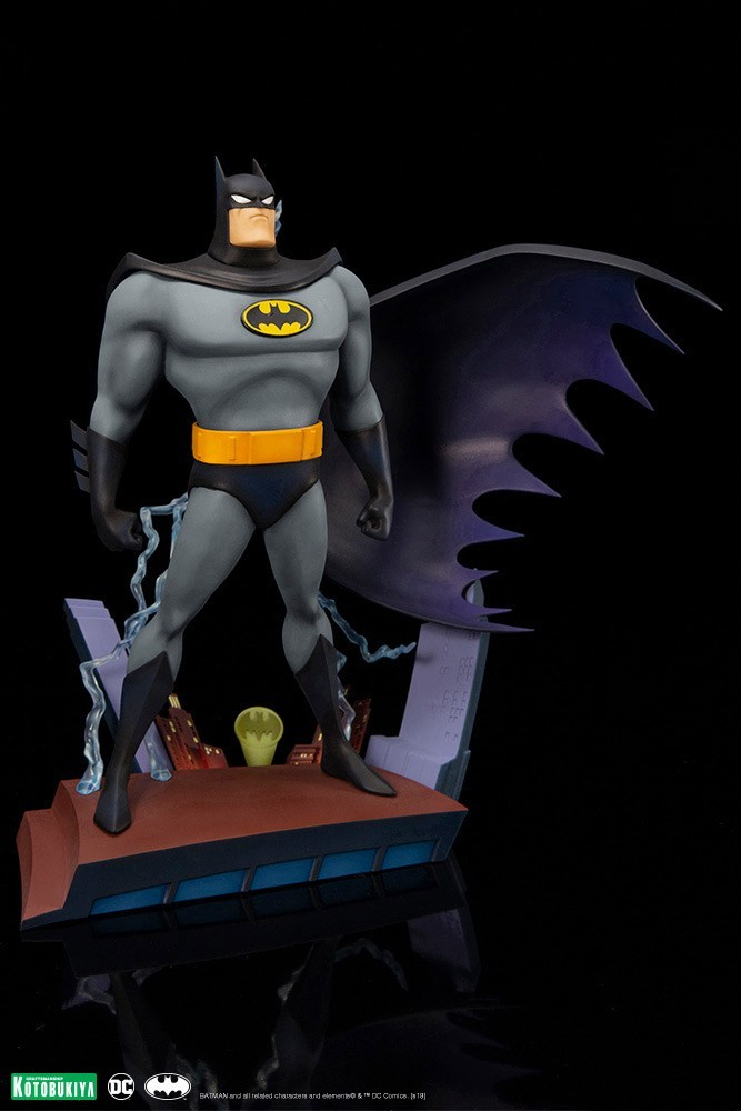 Kotobukiya DC Batman Animated Opening Sequence ARTFX+ Statue