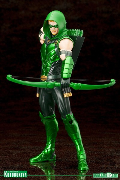Preorder Kotobukiya DC Comics New 52 Green Arrow ARTFX+ Statue