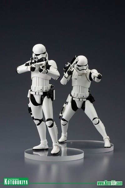 Kotobukiya Star Wars First Order Stormtrooper ARTFX+ Statue Set