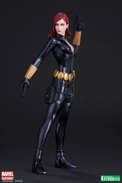 Kotobukiya Marvel Avengers Now Black Widow ARTFX+ PVC Statue
