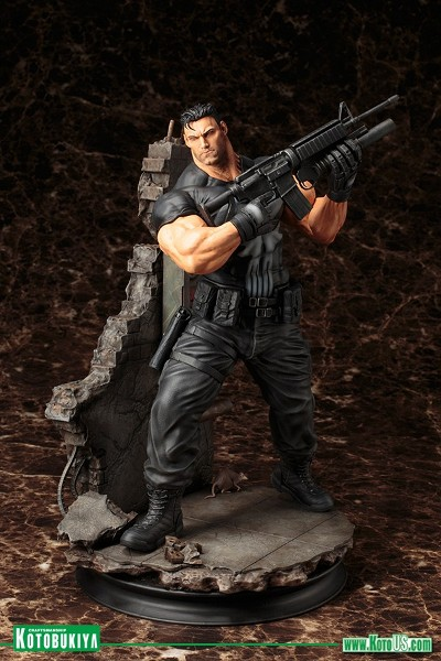 Kotobukiya Marvel Universe The Punisher Fine Art Statue