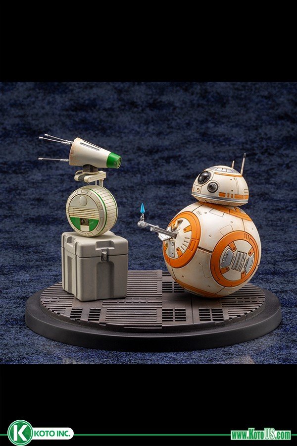 Kotobukiya Star Wars Rise of Skywalker D-O and BB-8 ARTFX Statue