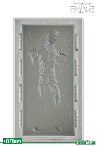Kotobukiya Star Wars Han Solo in Carbonite DX Silicon Tray