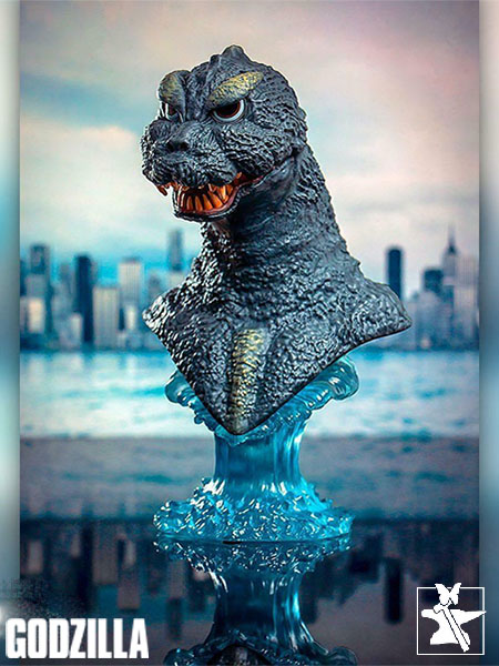 Diamond Select Toys Legends in 3D Godzilla 1964 Half Scale Bust