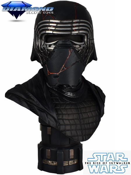 Diamond Select Legends in 3D Star Wars Kylo Ren Half Scale Bust