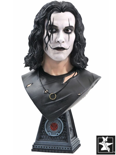 Preorder Diamond Select Legends in 3D The Crow Eric Draven Bust