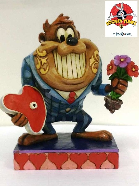 Looney Tunes by Jim Shore Date Night with Taz Statue