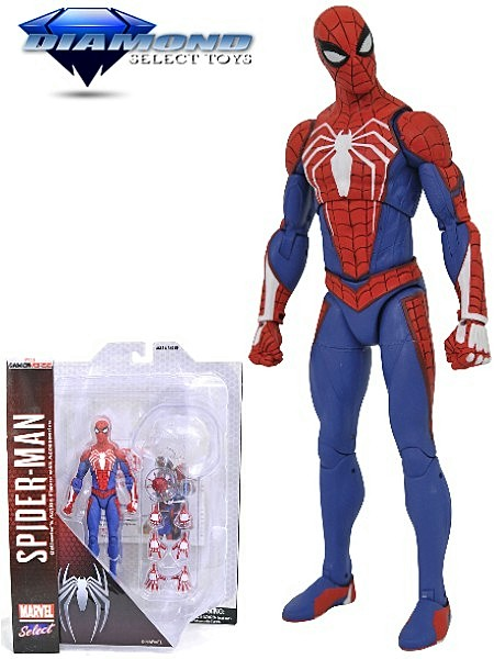 Diamond Select Toys Marvel Select Spider-Man Video Game Figure