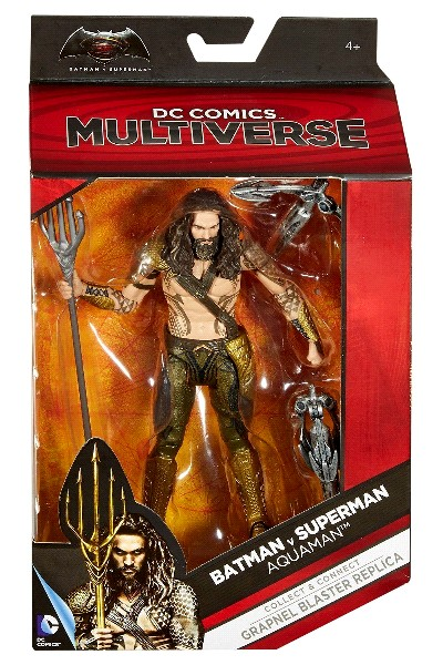 Mattel DC Comics Multiverse Batman vs Superman Aquaman Figure