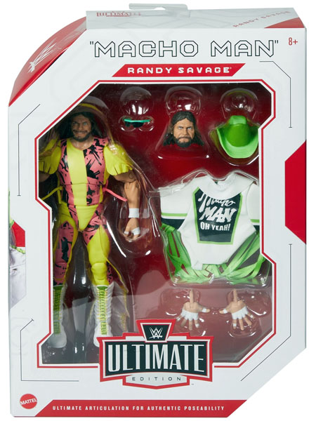 Mattel WWE Ultimate Edition Macho Man Randy Savage Figure