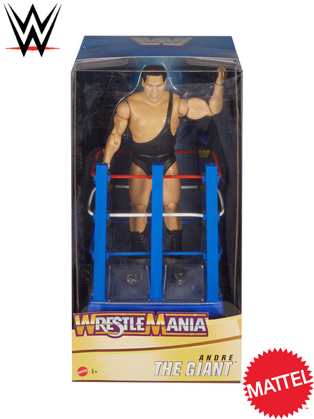 WWE Wrestlemania Moments Andre The Giant in Ring Cart Figure