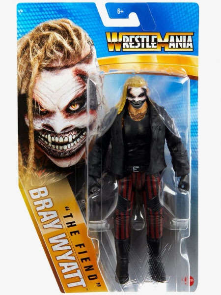Mattel WWE Wrestlemania 37 Bray Wyatt The Fiend Basic Figure