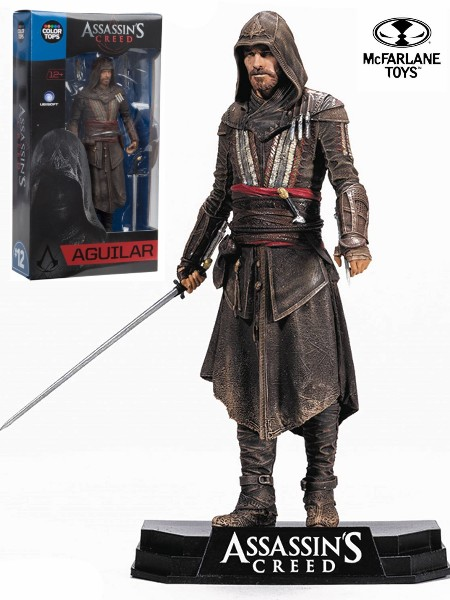 McFarlane Assassin's Creed Movie Aguilar Color Tops Figure