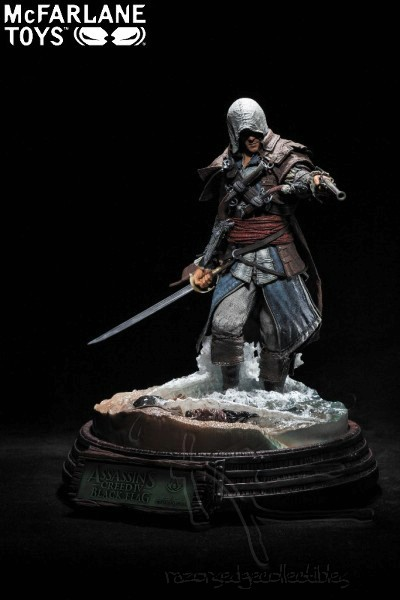 McFarlane Toys Assassins Creed IV Edward Kenway Resin Statue