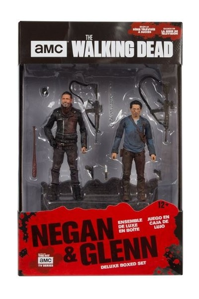 McFarlane The Walking Dead TV Series Negan and Glenn Box Set