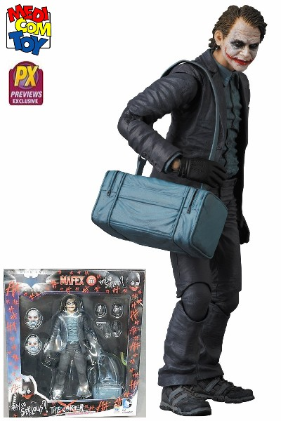 Medicom DC Batman Dark Knight Bank Robber Joker Miracle Figure