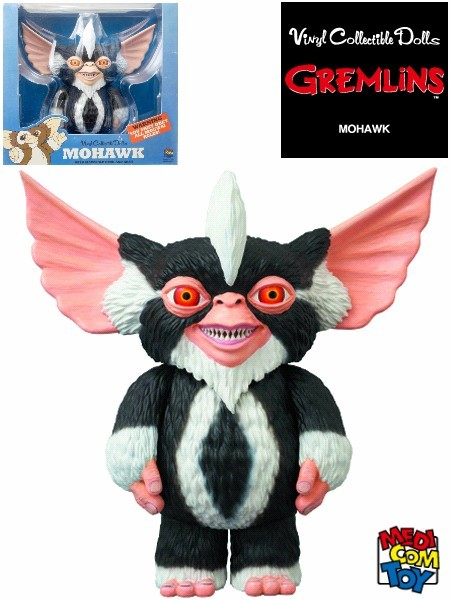 Medicom Toy Gremlins Mohawk Vinyl Collectible Doll Figure