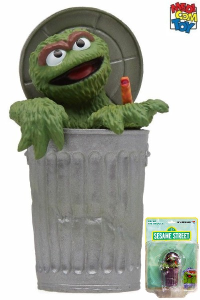 Medicom Toy Sesame Street Oscar the Grouch Ultra Detail Figure