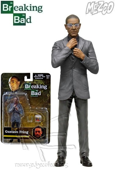 Mezco Breaking Bad Gustavo Fring 6 Inch Action Figure