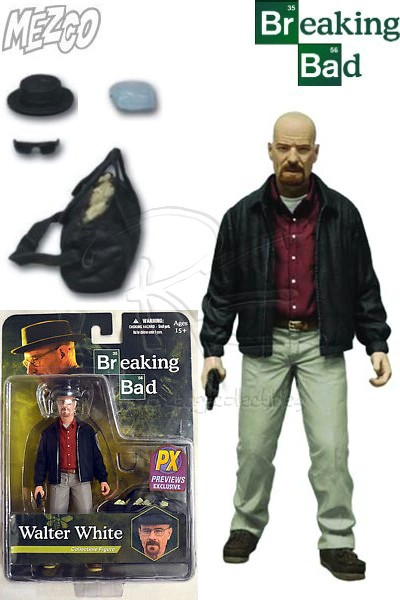 Mezco Breaking Bad Walter White as Heisenberg Red Shirt Figure